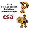 2015 CSA Individuals - Ramsay Cup: Kanzy El Defrawy (Trinity) and Nicole Bunyan (Princeton)