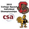 2015 CSA Individuals - Pool Trophy: Aditiya Jagtap (Cornell) and Karan Malik (Trinity)