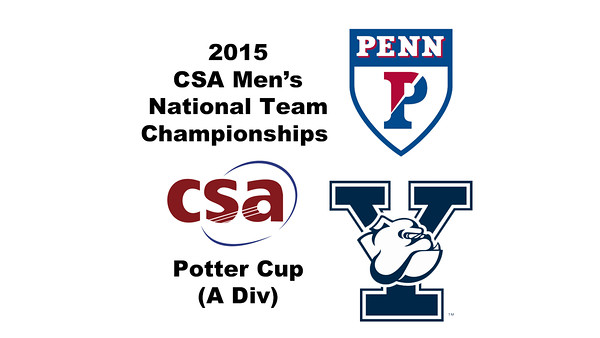 2015 MCSA Team Championships -  Potter Cup: James Watson (Penn) andMax Martin (Yale)