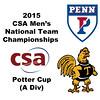2015 MCSA Team Championships -  Potter Cup: Karan Malik (Trinity) and James Watson (Penn)