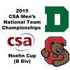 2015 MCSA Team Championships -  Hoehn Cup: Jack Harvey (Dartmouth) and August Jones (Cornell)