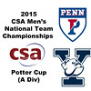 2015 MCSA Team Championships -  Potter Cup: Hayes Murphy (Penn) and Liam McClintock (Yale)