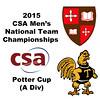 2015 MCSA Team Championships -  Potter Cup: Amr Khaled Khalifa (SLU) and Vrishab Kotian (Trinity)