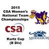 2015 WCSA Team Championships - Kurtz Cup: Caroline Sawin (Williams) and Liddy Renner (Middlebury)