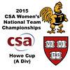2015 WCSA Team Championships - Howe Cup: Raneem Sharaf (Trinity) and Katie Tutrone (Harvard)