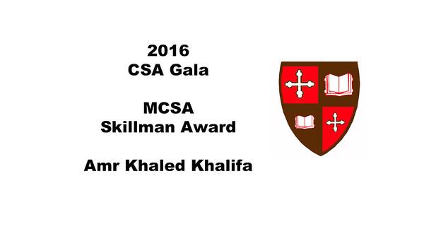 2016 Skillman Award Presentation