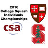 2016 CSA Individual Championships - Holleran Cup: Emily Terry (St. Lawrence) and Madeleine Gill (Stanford)