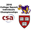 2016 CSA Individual Championships - Holleran Cup: Dileas MacGowan (Harvard) and Hayley Parsons (Williams)
