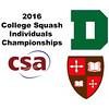 2016 CSA Individual Championships - Holleran Cup: Rebecca Brownell (Dartmouth) and Zoe Kagan (St. Lawrence)