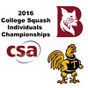 2016 CSA Individual Championships - Pool Trophy: Ahmed Abdel Khalek (Bates) and Rick Penders (Trinity) - Game 2