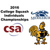 2016 CSA Individual Championships - Molloy Cup:  Affeeq Ismail (Trinity) and Wyatt French (Middlebury)