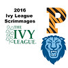 2016 Ivy League Scrimmages:  Alexandra Toth (Princeton) and Colette Sultana (Columbia)