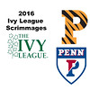 2016 Ivy League Scrimmages:  George Lemmon (Penn) and Komron Shayegan (Princeton)