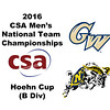 2016 CSA Team Championships -  Hoehn Cup: Mahmoud Abdel-Maksoud (George Washington) and Jack Herold (Navy)