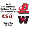 2016 CSA Team Championships -  Epps Cup: Alexandra Imperiale (Wesleyan) and Meagan Dashcund (Dickinson)