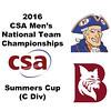 2016 CSA Team Championships - Summers Cup: Carlos Ames (Bates) and Divine Wing (Hobart)
