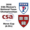 2016 CSA Team Championships -  Howe Cup: Introductions
