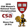 2016 CSA Team Championships -  Howe Cup: Kanzy El Defrawy (Trinity) and Sabrina Sobhy (Harvard)
