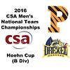 2016 CSA Team Championships -  Hoehn Cup: Ibrahim Bakir (Drexel) and Cody Cortes (Princeton)