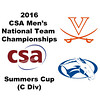 2016 CSA Team Championships - Summers Cup: Campbell Goodman (Virginia) and Gregory Ho (Colby)