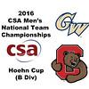 2016 CSA Team Championships -  Hoehn Cup: Benjamin Francis (Cornell) and John Bassett (George Washington)