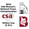2016 CSA Team Championships -  Walker Cup: Alexa Horwitz (Bowdoin) and Emma Dunn (Bates)