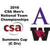2016 CSA Team Championships - Summers Cup: Raheem Logan (Wesleyan) and Mohammad Harith Khawaja (Amherst)
