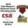 2016 CSA Team Championships -  Kurtz Cup: Apoorva Addepalli (Drexel) and Purvi Goel (Brown)