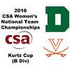 2016 CSA Team Championships -  Kurtz Cup: Victoria Dewey (Dartmouth) and Diane Tyson (Virginia)