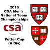 2016 CSA Team Championships -  Potter Cup: George Willis (St. Lawrence) and Alexi Gosset (Harvard)