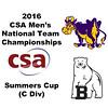 2016 CSA Team Championships - Summers Cup: John Fitzgerald (Williams) and Matthew Cooper (Bowdoin)