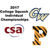 2017 CSA Individual Championships - Holleran Cup: Madison Soukup (Princeton) and Engy Elmandouh (George Washington)