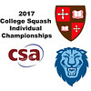 2017 CSA Individual Championships - Holleran Cup: Madlen O'Connor (Columbia) and Emily Terry (St. Lawrence)