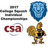 2017 CSA Individual Championships - Pool Trophy: Osama Khalifa (Columbia) and Thoboki Mohohlo (Trinity)