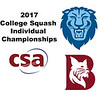 2017 CSA Individual Championships - Pool Trophy: Osama Khalifa (Columbia) and Ahmed Hatata (Bates)