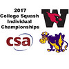 2017 CSA Individual Championships - Molloy Cup: Jamie Ruggiero (Williams) and David Sneed (Wesleyan)