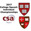 2017 CSA Individual Championships - Pool Trophy: Ahmed Bayoumy (St. Lawrence) and Saadeldin Abouaish (Harvard)