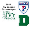 2017 Ivy League Scrimmages: Clare Kearns (Penn) and Ellie Gozigian (Dartmouth)