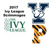 2017 Ivy League Scrimmages: Cody Cortes (Princeton) and Pierson Broadwater (Yale)