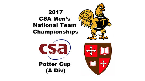 2017 MCSA Team Championships - Potter Cup: Omar Allaudin (Trinity) and Lockie Munro (St. Lawrence)