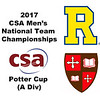 2017 MCSA Team Championships - Potter Cup: Ahmed Bayoumy (St. Lawrence) and Mario Yanez (Rochester)
