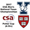 2017 MCSA Team Championships - Potter Cup: Dylan Murray (Harvard) and Pierson Broadwater (Yale)