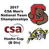 2017 MCSA Team Championships - Hoehn Cup: August Jones (Cornell) and Dylan Sweeney (Navy)