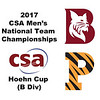 2017 MCSA Team Championships - Hoehn Cup: Darrius Campbell (Bates) and Cody Cortes (Princeton)