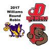 2017 Williams Round Robin: Emma Uible (Cornell) and Domenica Romo (Dickinson)