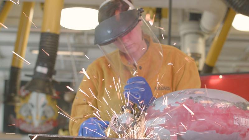 Sculpting Class Welding B-Roll