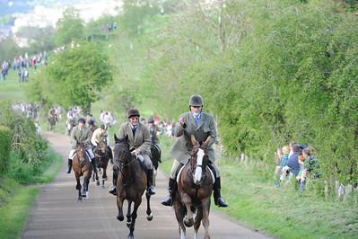 Hawick Common Riding 2013Thursday Evening Hut