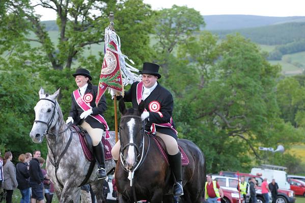 Peebles March Ridings 2013
