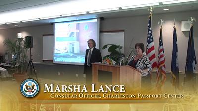 Marsha Lance - Consular Officer Video Clip