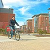 Campus Bike Ride B-Roll